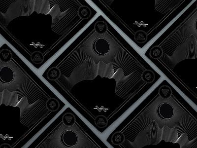 Bandana Design linework line art geometric art geometry logo vector illustrator illustration art illustration louisville graphic graphic design designer design