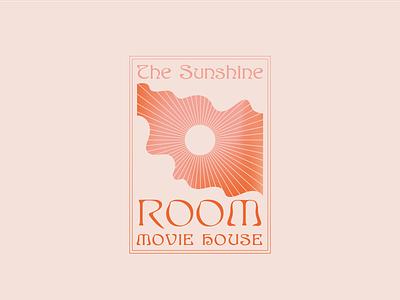 The Sunshine Room Movie House art nouveau vintage identity branding typography retro illustrator illustration art illustration louisville graphic graphic design designer design