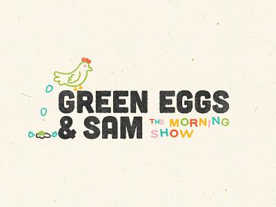 Green Eggs & Sam branding design branding typography retro illustrator illustration art illustration louisville graphic graphic design designer design