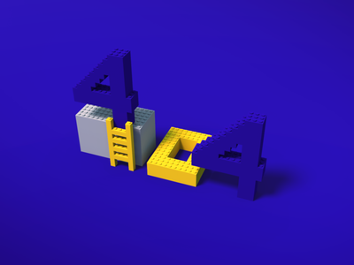 404 Page Lego Voxel voxel legos legos construction 404 lego 404 illustration 3d graphic illustration art voxel illustration voxelart voxel voxels voxel 404 error page voxel error page illustration error page 404 illustration 404 not found 404 page