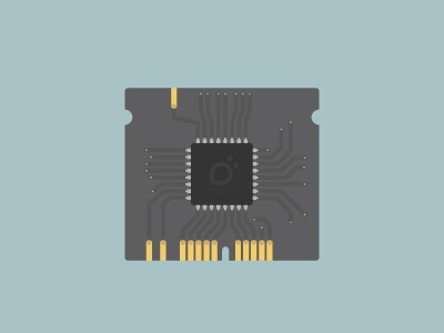 Main Board board motherboard chip flat flat design