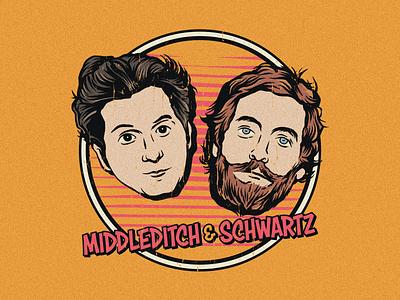 Middleditch & Schwartz merch sonic silicon valley ben schwartz thomas middleditch