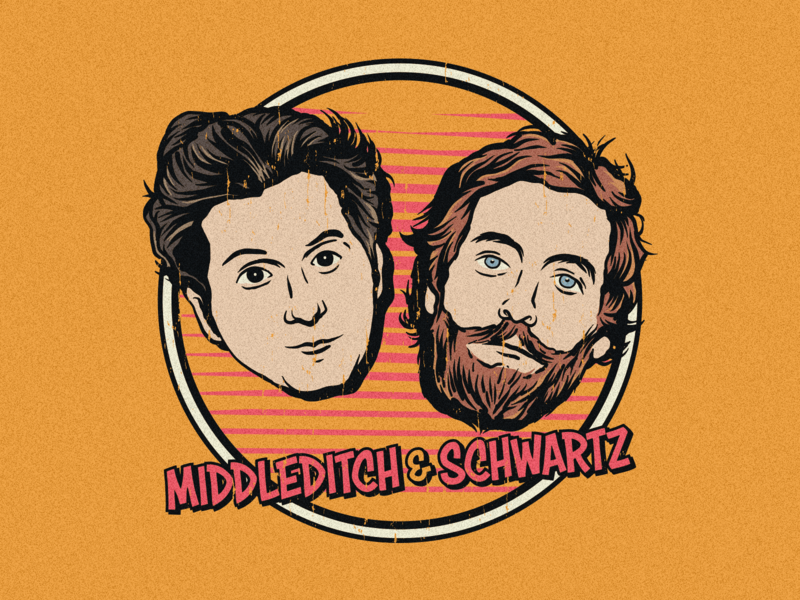 Middleditch & Schwartz merch sonic silicon valley ben schwartz thomas middleditch