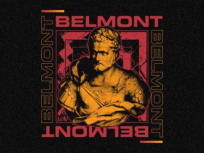 Belmont pop punk apparel merchandise illustrator photoshop vector band merch belmont