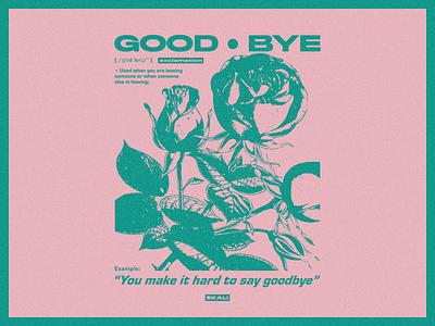 Ekali - Goodbye t-shirt vintage music illustration band apparel vector merch design edm merch