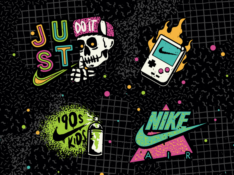 Nike / Air Max 90 – 30th Anniversary sneakers design vector 90s sportswear nike air max
