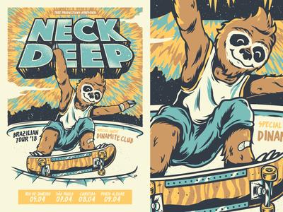Neck Deep - Brazilian Tour '18