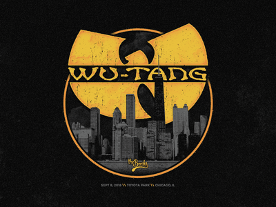 Wu-Tang Clan rap hiphop halftone festival music chicago wutang wutangclan