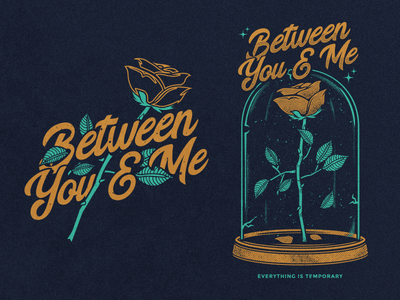 Between You & Me pop punk band apparel merch hopeless temporary rose between you and me