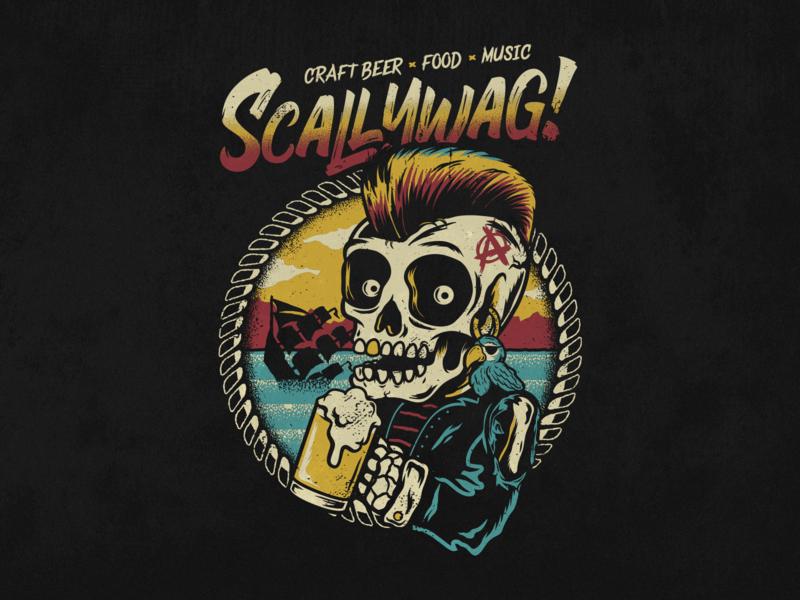 Scallywag Festival 2020.Scallywag By Vinicius Gut On Dribbble