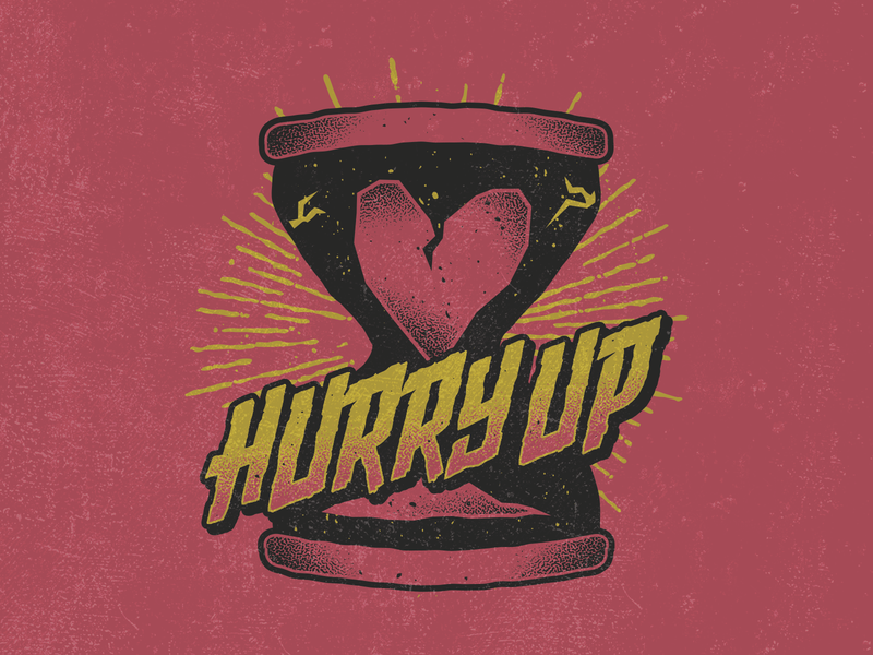 Hurry Up by Vinicius Gut on Dribbble