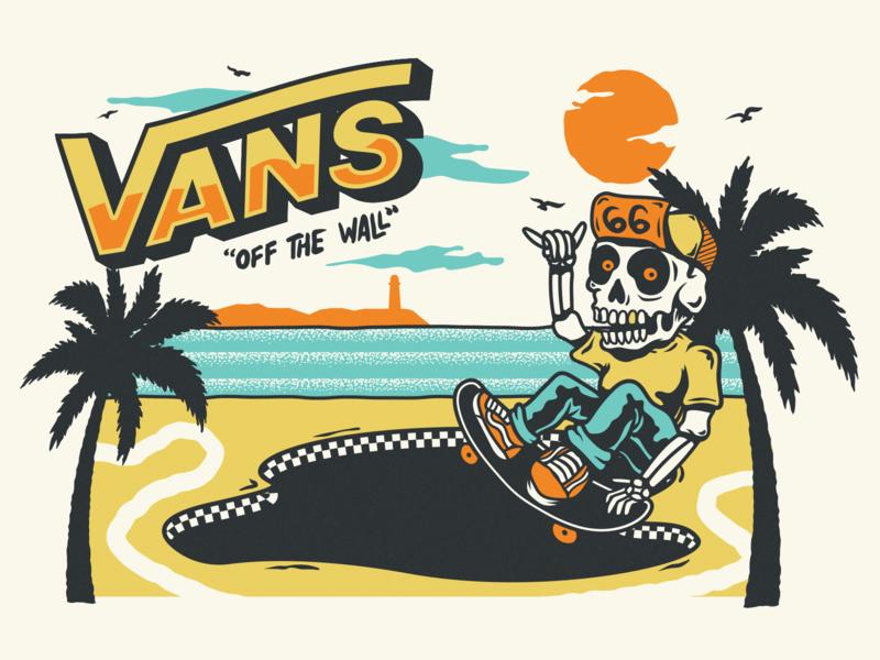 aaa51d4412 Vans Off the Wall by Vinicius Gut
