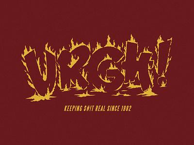 Urgh 🔥 sk8 vector type fire skateboard urgh