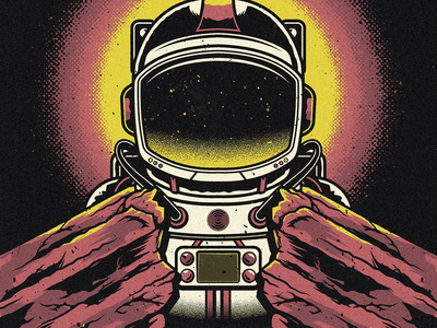 Jai Wolf - Red Rocks vector red rocks astronaut jai wolf edm