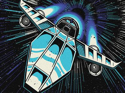 Jai Wolf - Spaceship vector astronaut spaceship jai wolf edm