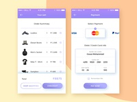 Daily UI :: 002 Credit Card Checkout