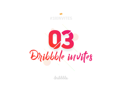 3x Dribbble Invites giveaway play invitation welcome invites invite dribbble draft day away 3x