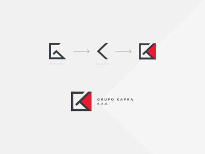 Grupo Kapra s.a.s. logodesign brandbook manualdemarca logotipo logodiseño argentina branding logo diseñografico design