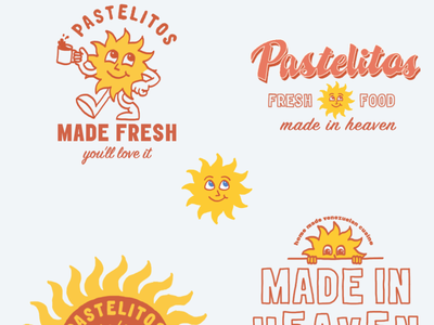 Pastelitos Exploration concept design brainstorming illustraion graphic design design brand identity