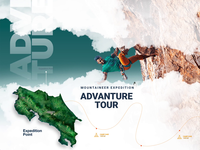 Mountaineering & Trekking Web Template animation motiongraphics theme template website xddailychallenge prototype trekking mountaineering mountain bike adventure