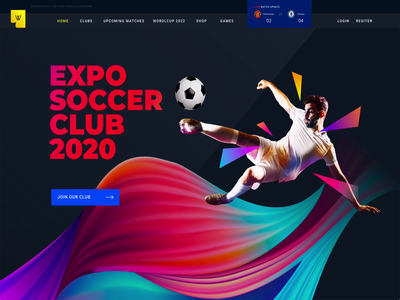 Expo2022 | Exclusive Soccer Sports Portal template website worldcup2022 ticket booking soccer landing page jersey print holiday game zone football clubs football doha