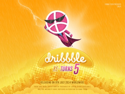 Dribbble Re Turns 5