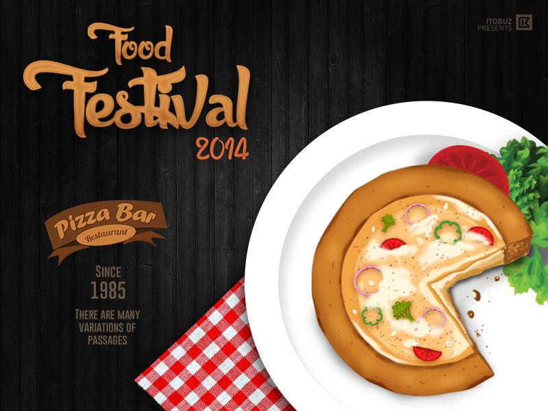 Food Festival 2014 Poster By Itobuz Technologies Pvt Ltd