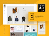 Awesome Shop Ui Elements
