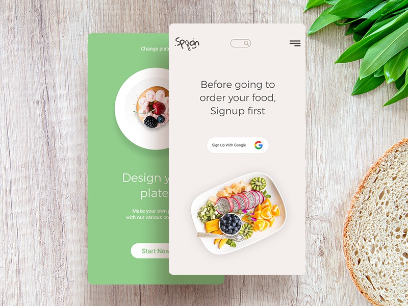 Spoon the restaurant app