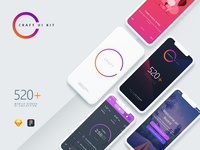 Craft A Multipurpose and Multi Business Mobile UI Kit