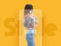 Shopping Mobile UI Cencept