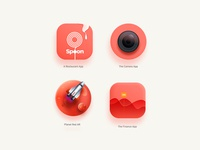 App Icon-Colour of the year | Living Coral