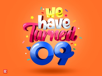 We Have Turned 09-Giveaway free giveaway birthday illustration mobile agency design creative template website