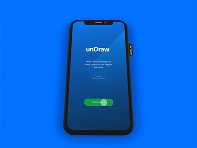 UnDraw-Open-source illustrations animation prototype website mobile app svg animation vector mobile ux design ui illustrations undraw