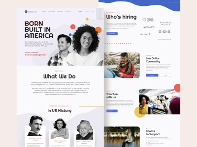 Website for a Non-Profit ux vector illustration graphic design responsive design responsive figma ui product design
