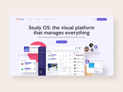 Product Landing Page product design marketing page landing page