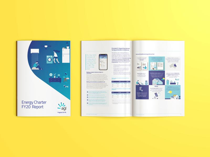 Energy Charter printed brochure design typography
