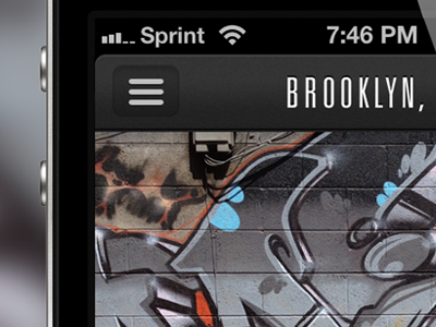 [Redacted]: An iPhone App iphone ios ui ux app graffiti street art