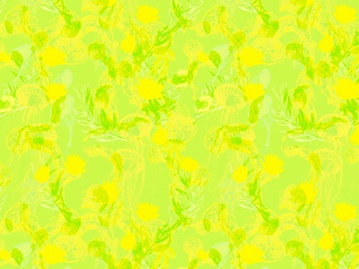 Jelly green green illustration design undersea seamless pattern jellyfish flowers fashion