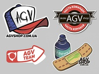 Stickers 4 skateshop