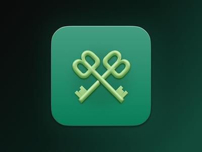 Buttler App for Mac OS Big Sur vector neomorphism big sur icon big sur icon app icon app ui mobile mobile app app