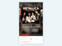 Daily UI: Day 009. Music Player