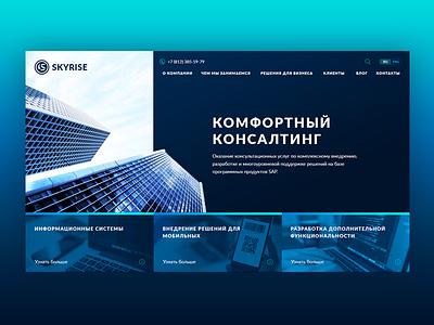 Skyrise ux ui web development it consulting skyrise