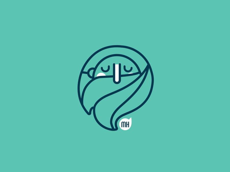 MH Logo identity branding design