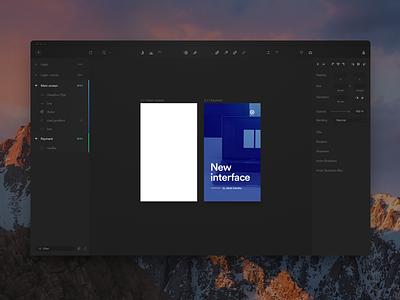 Sketch Dark UI  behance grey dashboard black ui dark sketchapp sketch