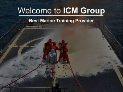 Welcome to ICM Group | Best Marine Training Provider