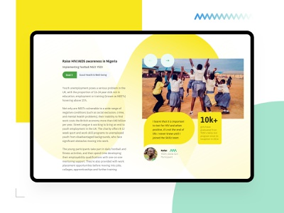 Common Goal - Charity Project Details ui  ux soccer football speechbubble help donation awereness hiv globalgoals charity