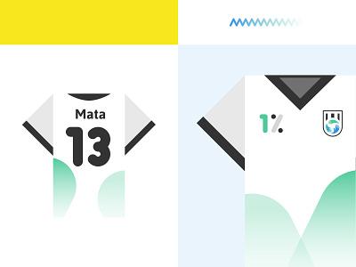 Common Goal - Football/Soccer Jersey brand identity juan mata team uniform jersey soccer badge logo branding