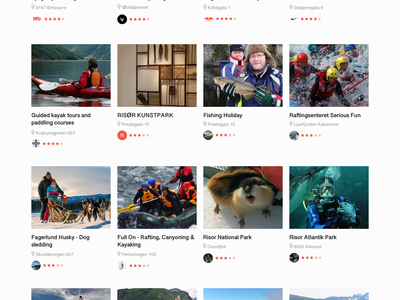 Avidyx - Search in Norway Magnificent Places sports search navigation nature mountain landscape interface gif desktop dashboard animation ugem