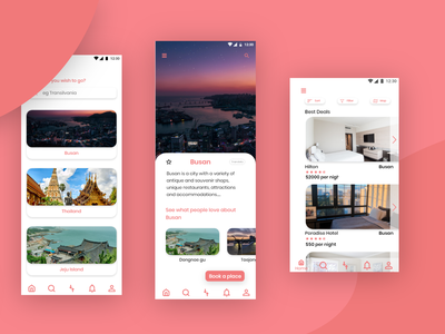 Travel app UI design travel app design travel app ui travel ui uiux user interface ui design